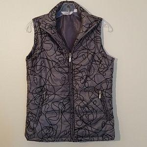Indigo Gray Vest, Size S